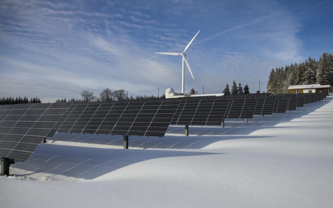 Solenergi och solceller i Lappland